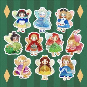 Fairytale Fairies Sticker Flakes