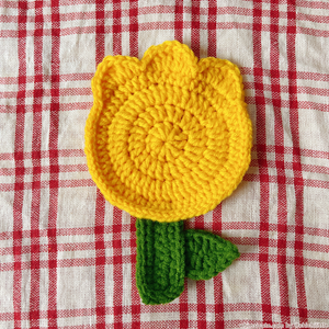 Tulip Coaster (Yellow)