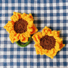 Load image into Gallery viewer, Sunflower Hairtie / Hairclip