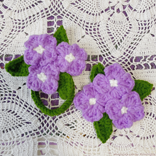 Load image into Gallery viewer, Hydrangea Hairtie / Hairclip