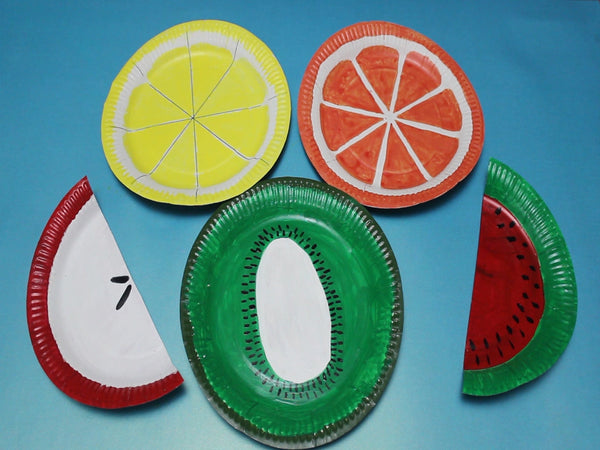 Healthy Plate : paper plate fruit - Pezcame.Com