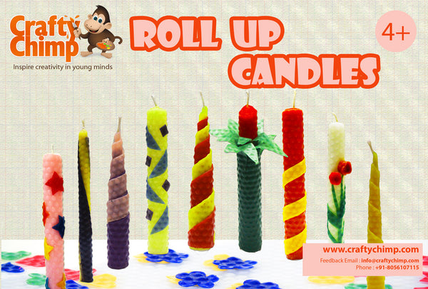 Roll Up Candles