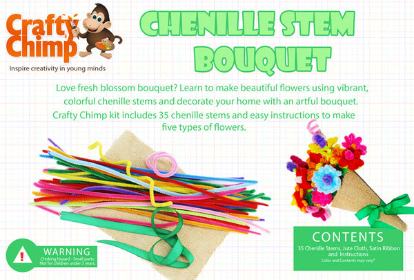 Chenille Stem Bouquet