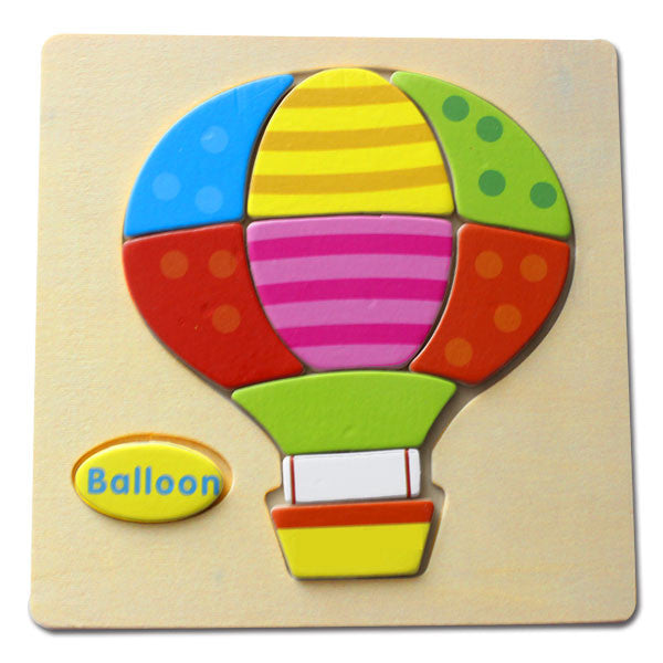 Wooden Puzzle - Balloon