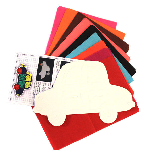 Tissue Art Kit - Car