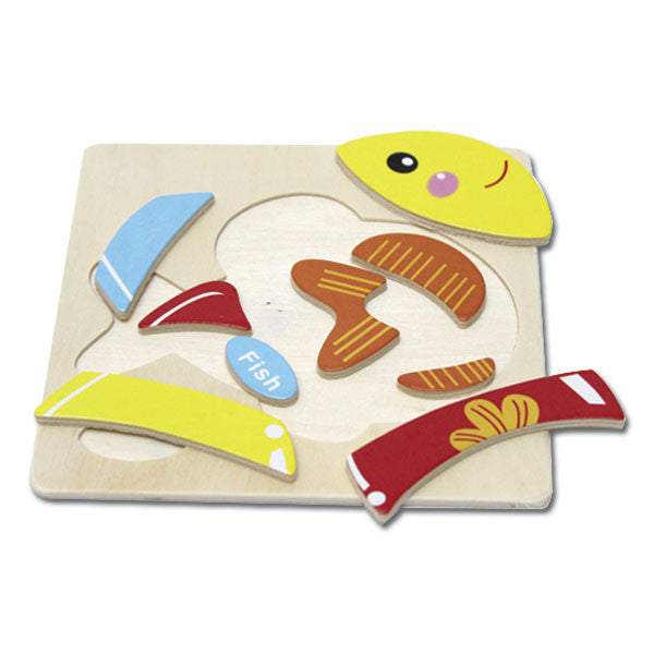 Wooden Puzzle - Fish