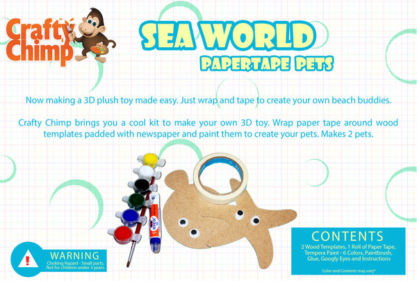Paper Tape Pets - Sea World