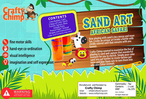 Sand Art - African Safari