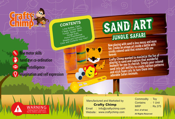 Sand Art - Jungle Safari