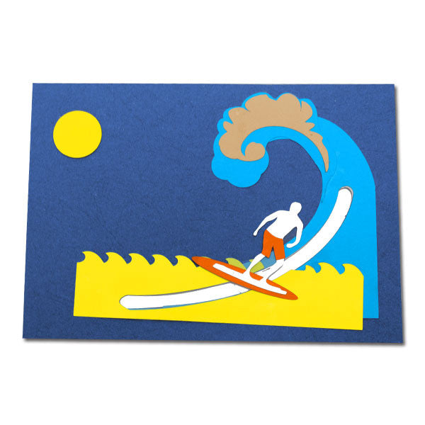 Wind Surfer - Motion Card