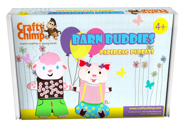 Barn Buddies - Paper Bag Puppets