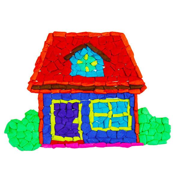 Tissue Art Kit - House