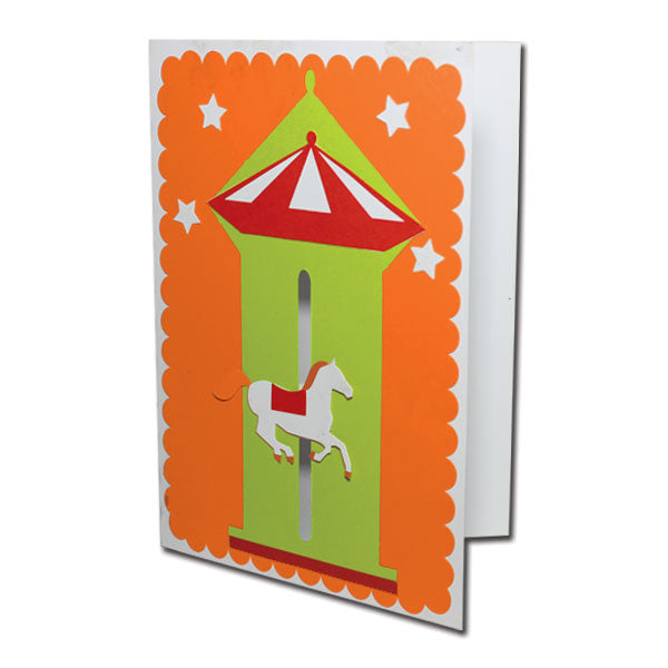 Merry Go Round - Motion Card