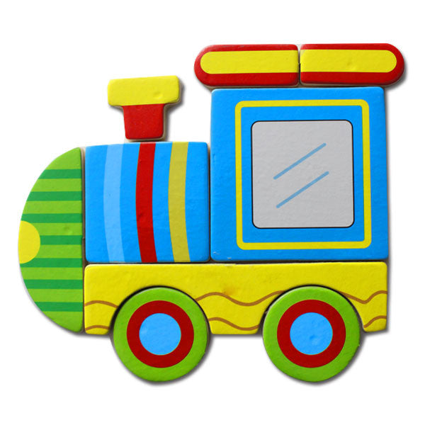 Wooden Puzzle - Train
