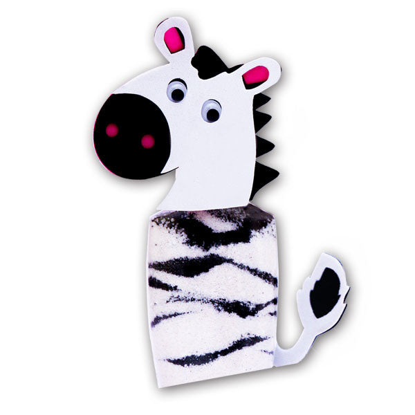 Sand Art Kit - Zebra