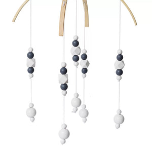 Nordic Wooden Beads Mobile Toy - ELAN KIDS BOUTIQUE