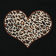 Load image into Gallery viewer, Baby girl leopard print heart long sleeve vest - ÉLAN KIDS BOUTIQUE