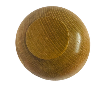 Infant & toddlers suction wooden mini bowl - Grey - ELAN KIDS BOUTIQUE