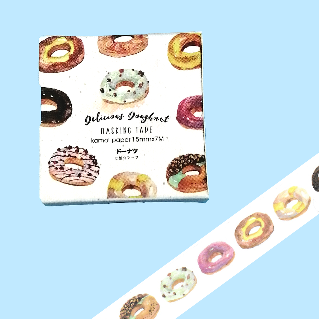 Doughnuts Washi Tape - Sock. Paper. Scissors.