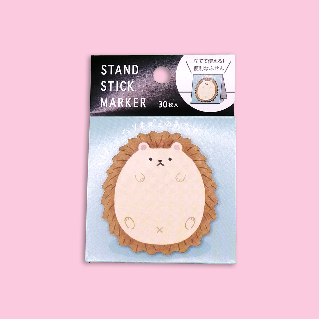 Hedgehog Belly Sticky Notes - Sock. Paper. Scissors.
