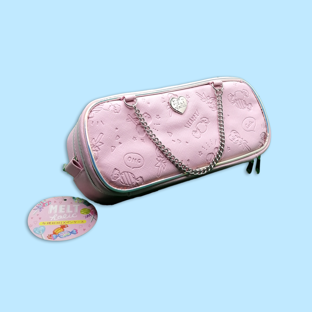 Melt Holic Pink Pencil Case - Sock. Paper. Scissors.