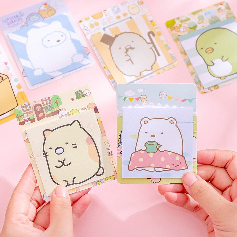 Sumikko Gurashi Sticky Notes - Sock. Paper. Scissors.