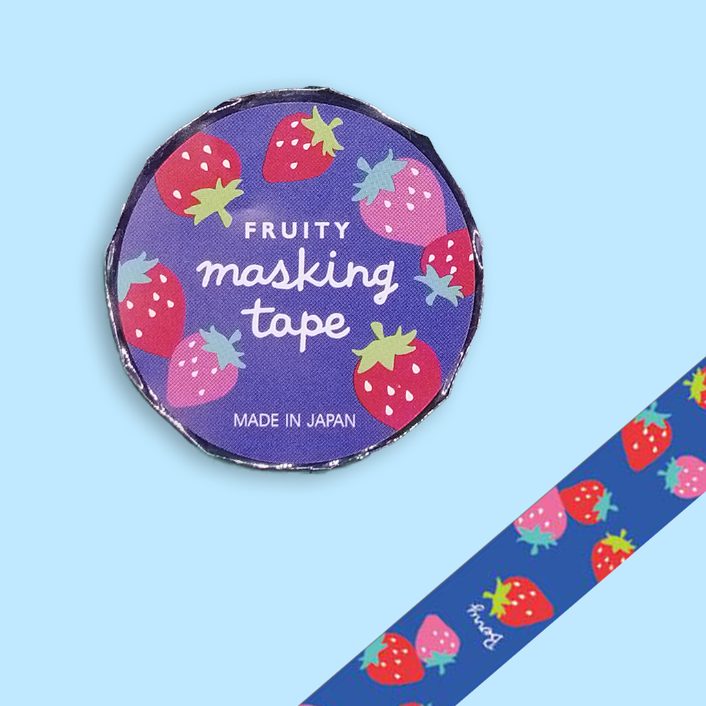 Strawberry Washi Tape - Sock. Paper. Scissors.