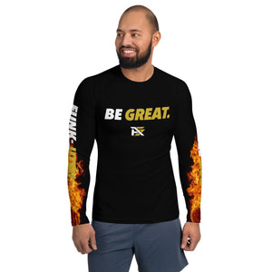 "Men's ""Be Great"" Strangle God Rash Guard"