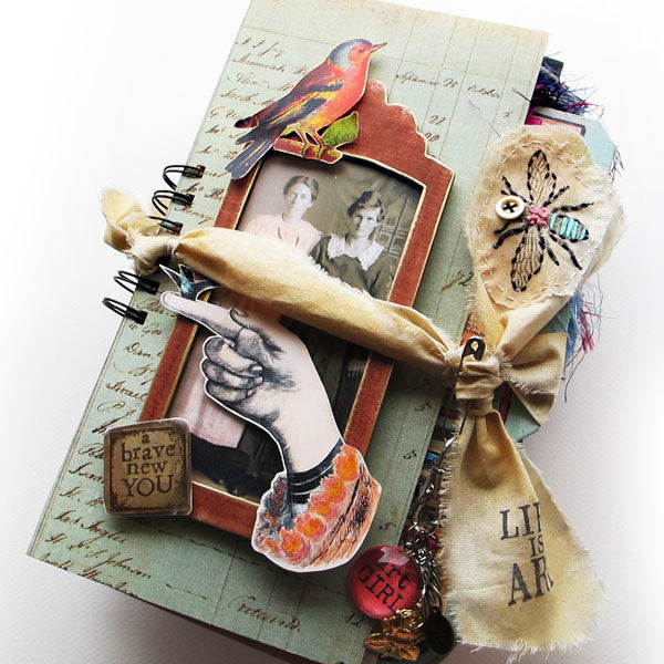 A New She Makes Art Junk Book Kit