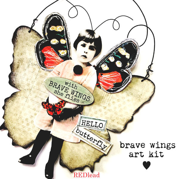 New! Brave Wings Art Kit