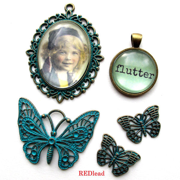 New Patina Charms in the shop today!