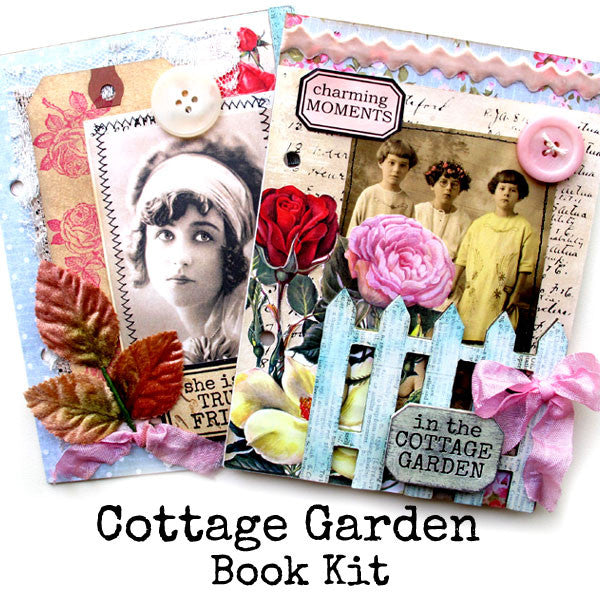 New! Cottage Garden Book Kit!