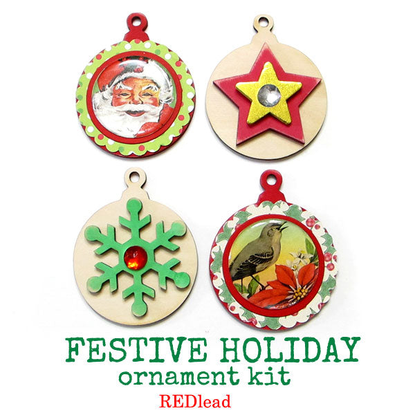 New Festive Holiday Ornament Kit