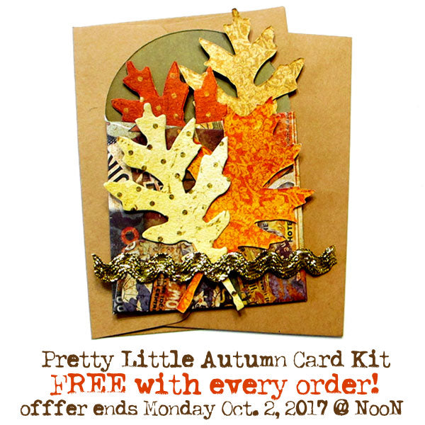 FREE Pretty Little Autumn Card Kit