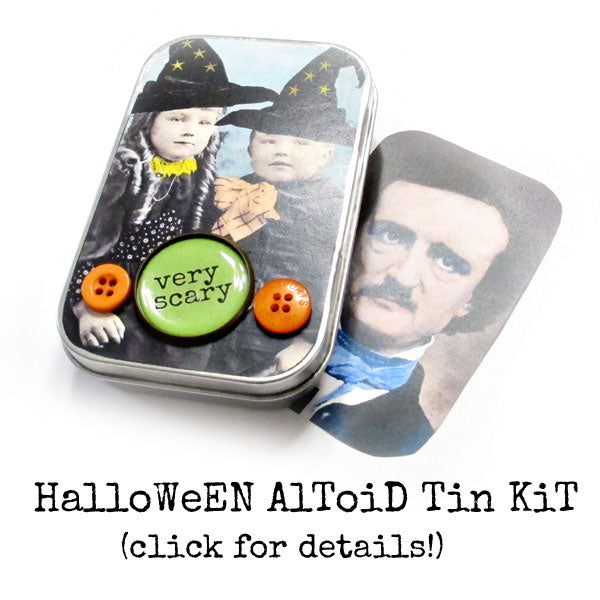 Halloween Altoid Tin Kit