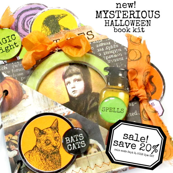 New Mysterious Halloween Book Kit