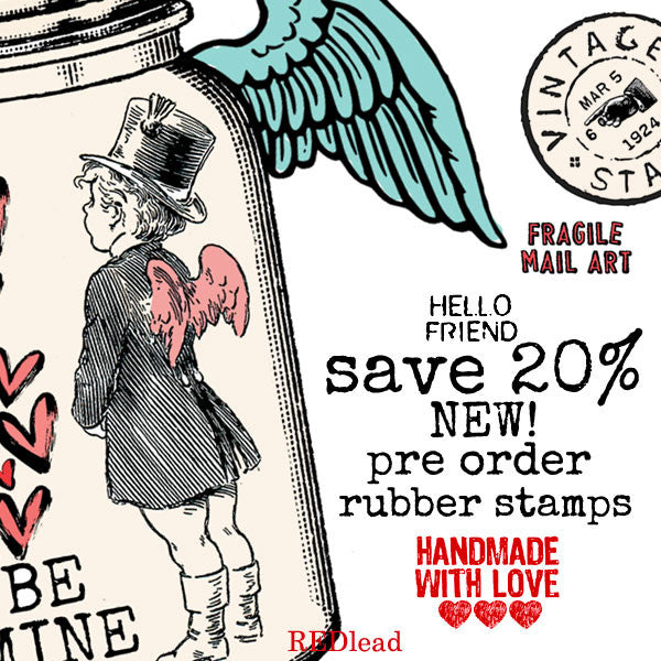 Brand New Rubber Stamps Pre Order Save 20%!