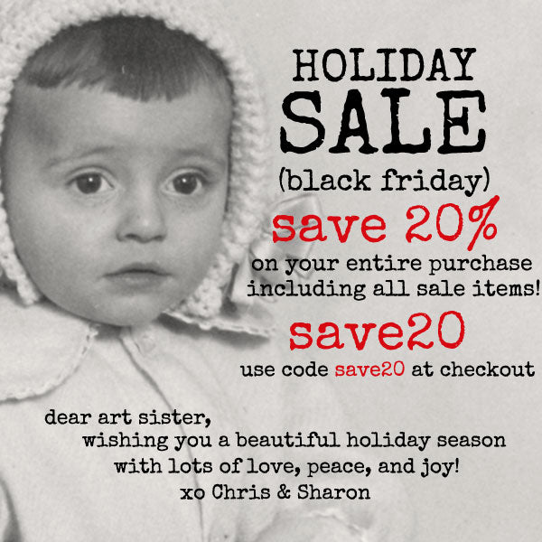 Holiday Sale! Save 20% on Your Entire Purchase
