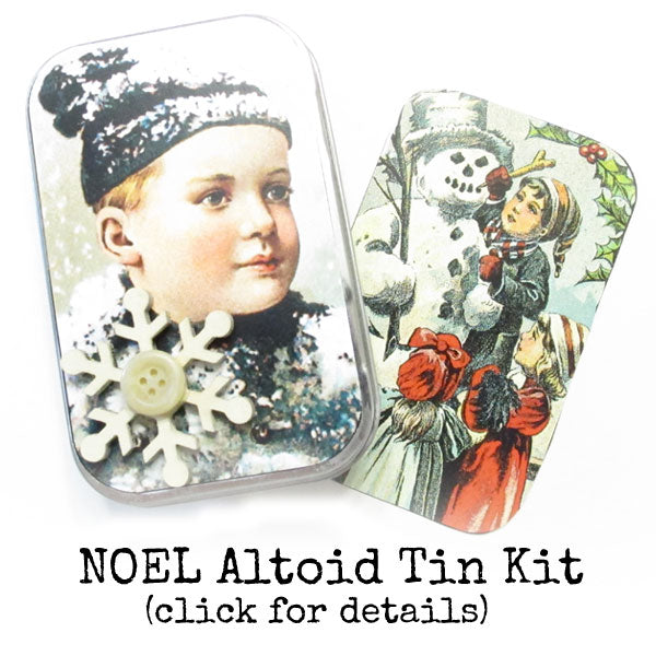 Noel Christmas Altoid Tin Kit