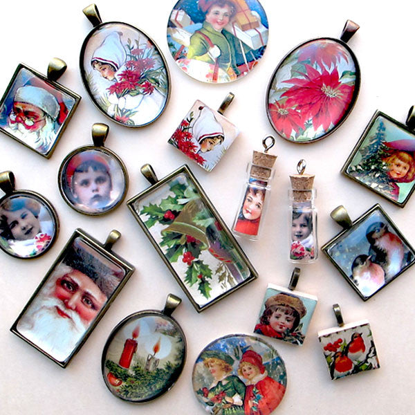 Make Fun and Easy Christmas Pendants