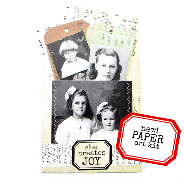 She Creates Joy Paper Art Kit