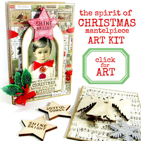 The Spirit of Christmas Art Kit