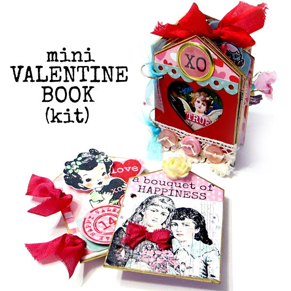 Last Call Mini Valentine Book Kit Sale