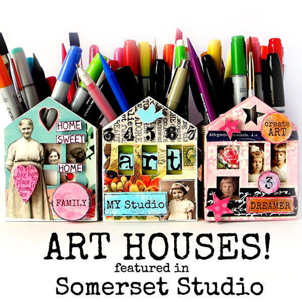 Art Houses Published in Somerset Studio Magazine