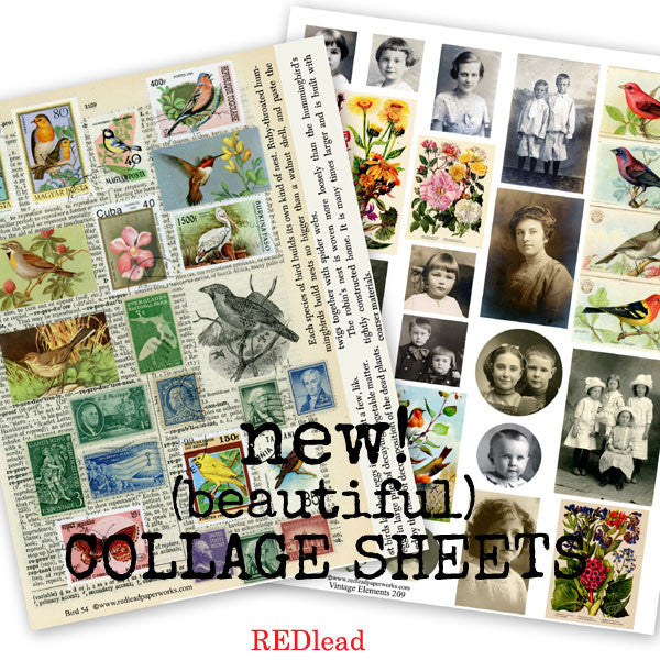 Beautiful New Collage Sheets