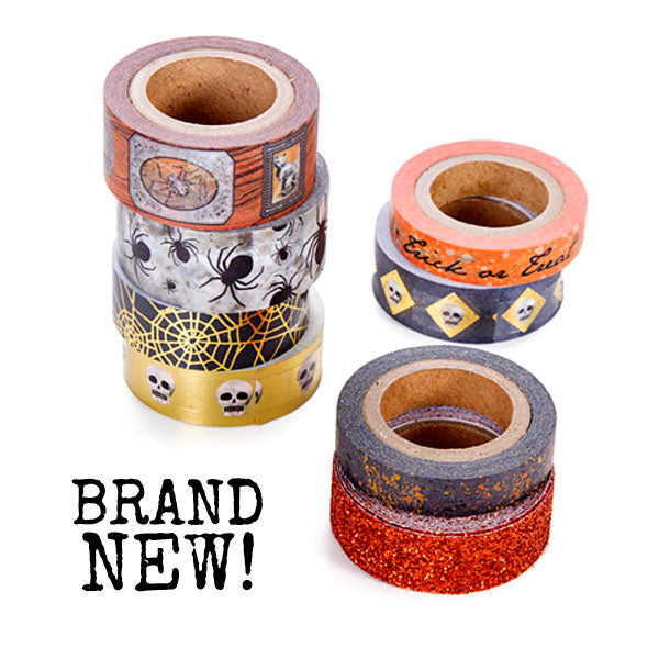 Just In - Halloween Washi Tape by Martha Stewart