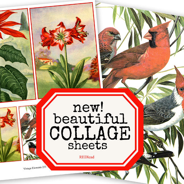 Christmas Collage Sheets