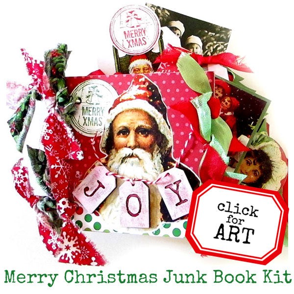 Merry Christmas Junk Book Kit