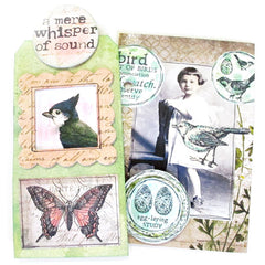 Bird Watch Bird Rubber Stamp