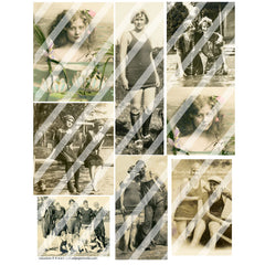 Ancestors Collage Sheet 8